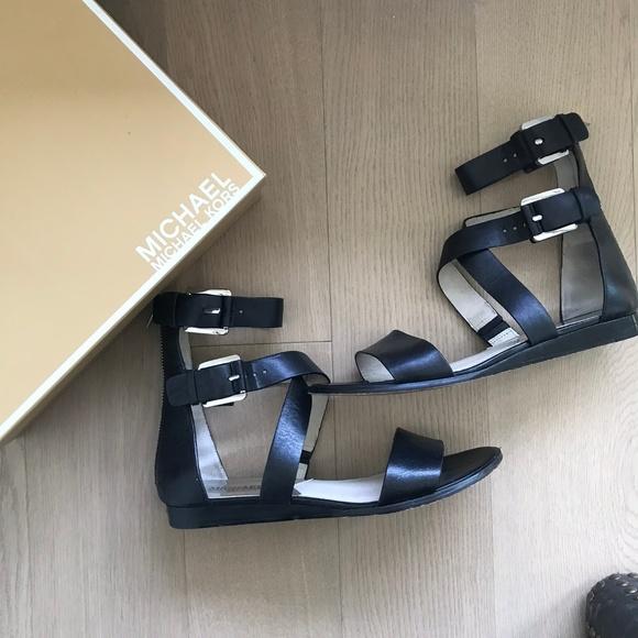 45ba6f2b1a67 MICHAEL Michael Kors Josephine Gladiator Sandals. M 5ae23d906bf5a6072b5d3fce